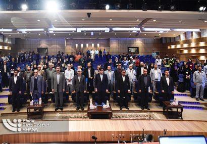 نشست خبری راهاندازی فاز سوم پالایشگاه ستاره خلیج فارس