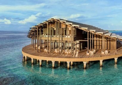 نمایی رویایی از جزیره خورشیدی