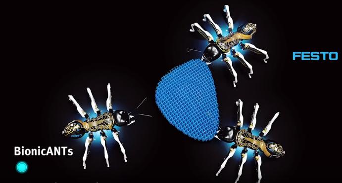 مورچه مصنوعی / ربات مورچه