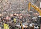 آزادسازی ۱۰۰۰ متر مربع از بستر رودخانه کن در تهران