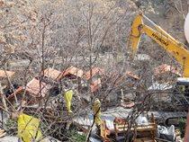 آزادسازی 1000 متر مربع از بستر رودخانه کن در تهران