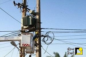 سیر نزولی شرکت توزیع برق خوزستان