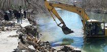 تخریب 28 سازه غیرمجاز در حریم رودخانه زایندهرود