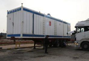 ارسال یک جایگاه سیار سوخت از منطقه آبادان به پلدختر