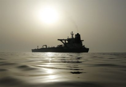 نفتکش ایرانی آدریان دریا بهسمت ترکیه تغییر مسیر داد