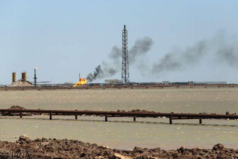 مهار نشت نفت از انشعاب غیرمجاز خط لوله صادراتی آزادگان شمالی