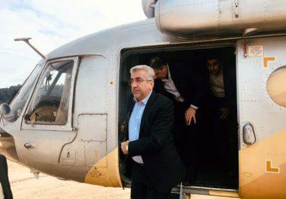 وزیر نیرو از روند پیشرفت طرح انتقال آب بن به بروجن بازدید کرد