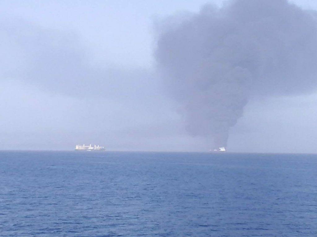 انفجار در بدنه نفتکش ایرانی در دریای سرخ