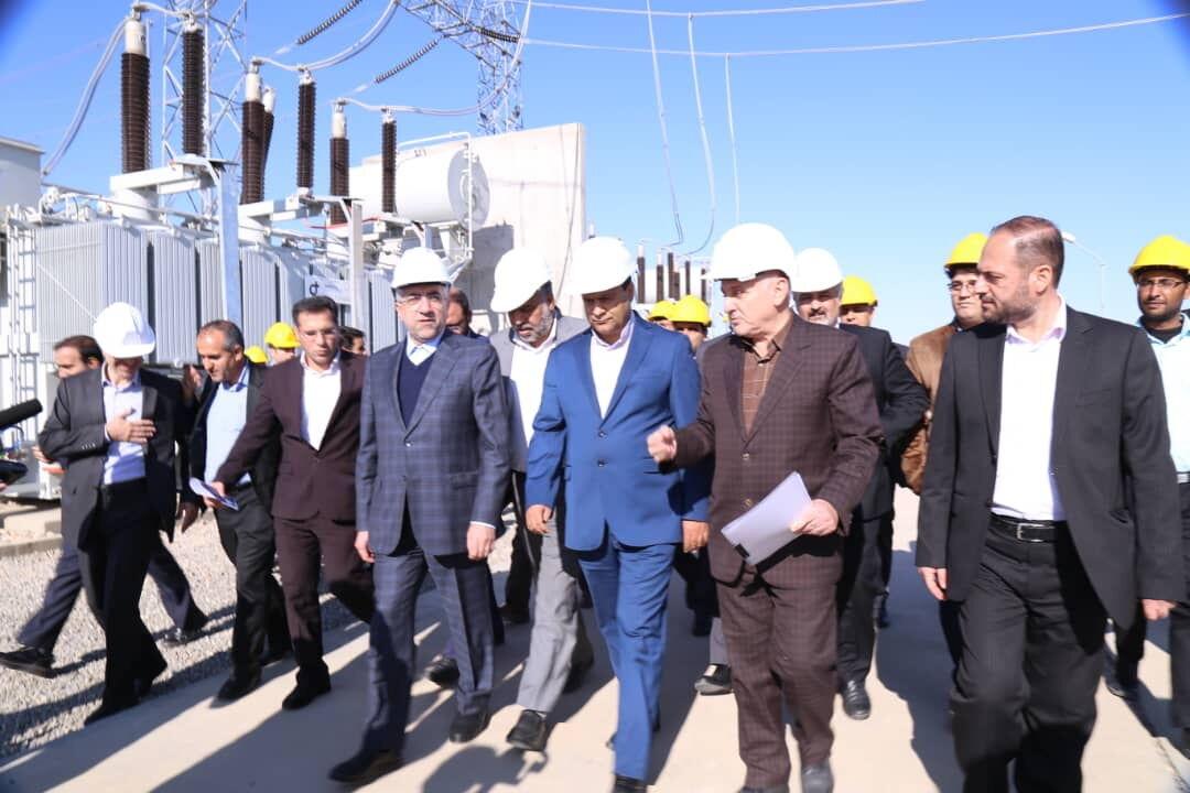 پنج پروژه صنعت برق در یزد افتتاح شد
