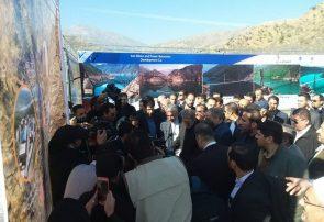 نیروگاه برق آبی سردشت با حضور رییس مجلس و وزیر نیرو به بهرهبرداری رسید