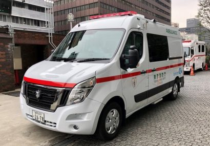 آمبولانس برقی در ژاپن به کمک محیط زیست آمد