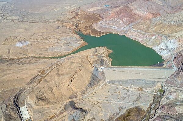افتتاح سد سیاهو در استان خراسان جنوبی