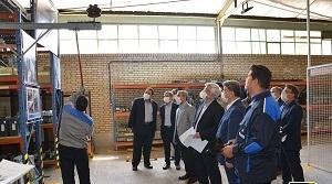 بازدید مدیران توانیر از فعالیتهای شرکت توزیع برق