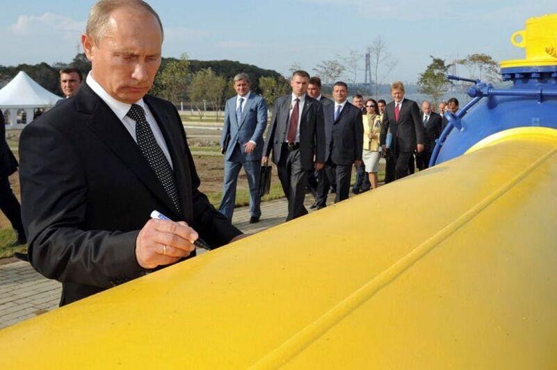 دیپلماسی روسیه بر گاز جهان