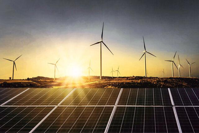 رشد یک درصدی انرژی های تجدید پذیر