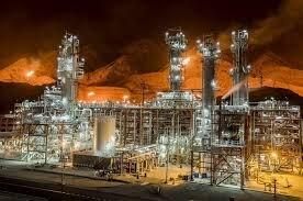 وضعیت پالایشگاه چهارم مجتمع گاز پارسجنوبی