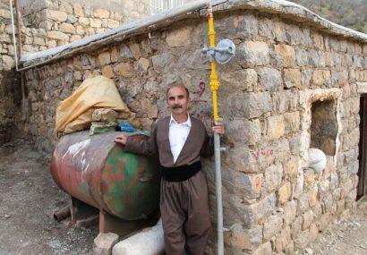 150 روستای کردستان گازدار شدند!