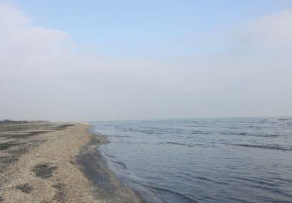 تراز سطح آب دریای خزر، پانزده سانتیمتر کاهش یافت