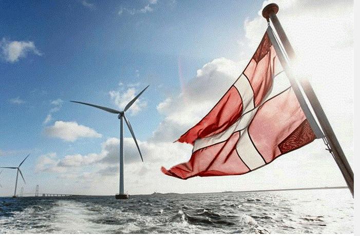 طرح دانمارک برای احداث جزایر انرژی بادی
