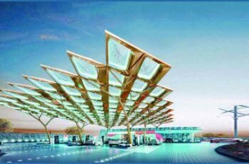 فعالیت بلندینگ اماراتی با نیروی خورشید