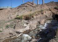 ورود فاضلاب به رودخانه قرهسو و مشکلات زیست محیطی