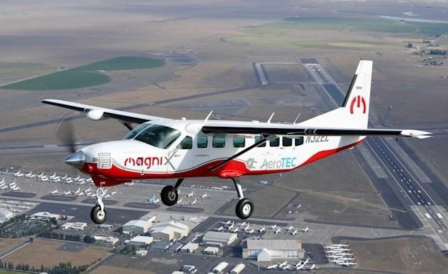 پرواز بزرگترین هواپیمای برقی جهان