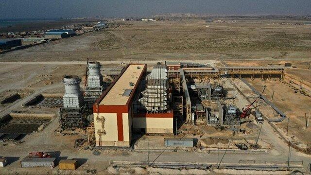 افتتاح واحد نخست نیروگاه سیکل ترکیبی قشم