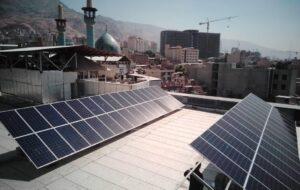 بهره برداری از نیروگاه خورشیدی پارکینگ