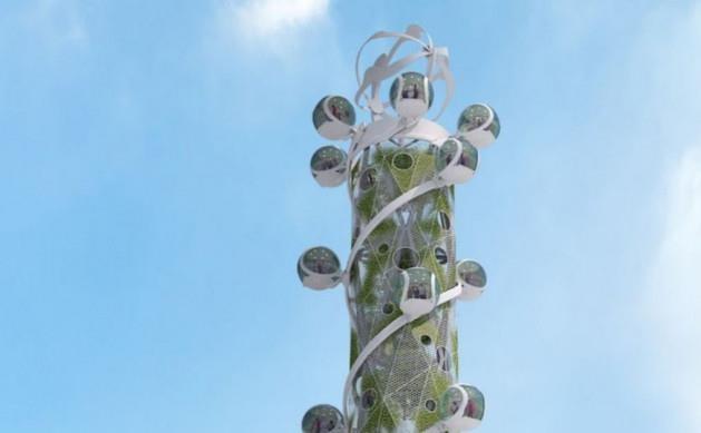 تأمین برق مورد نیاز ساختمان ها با آسیاب بادی