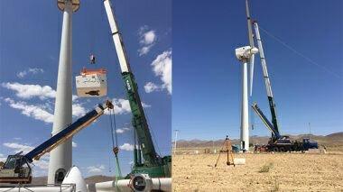 توربین بادی ۲۵۰ کیلووات در دانشگاه فردوسی