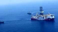 خروج کشتیهای اکتشاف گاز ترکیه از دریای مدیترانه
