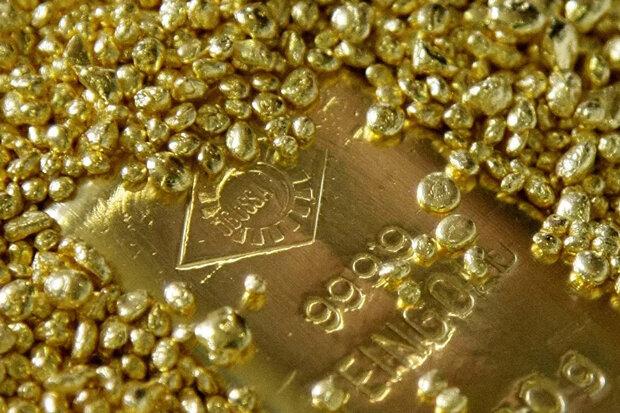 درآمد روسیه از صادرات طلا بیش از صادرات گاز طبیعی شد