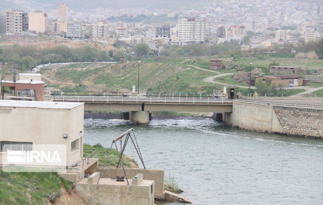 رهاسازی ۴۷ میلیون مترمکعب آب  از سد مهاباد برای مصرف کشاورزی