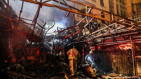 نشت گاز عامل انفجار مرکز درمانی خیابان شریعتی تهران نیست