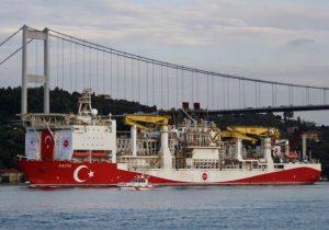 ترک ها در دریای مدیترانه به در بسته خوردند !