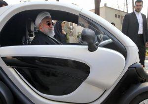 خودروی برقی ایرانی با محور انرژی پاک