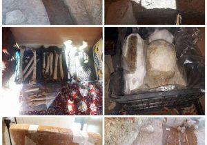 کشفیات گورستان باستانی فینسک مربوط به عصر آهن+عکس