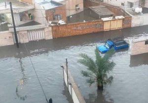 وعدههای استانداری محقق نشد/ خانههای مردم خوزستان زیر آب رفت/تصویری/کامل/