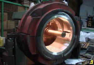 یاتاقان فوق سنگین با کاربردهای نیروگاهی داخلی ساخته شد