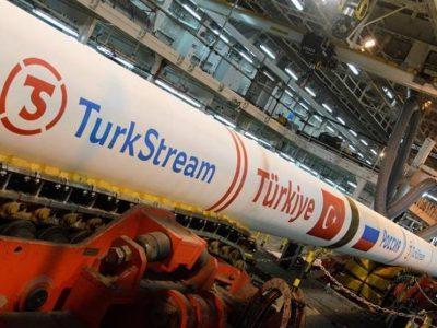 روسیه صادرات گاز طبیعی از خط لوله ترک استریم را ۲ برابر کرد
