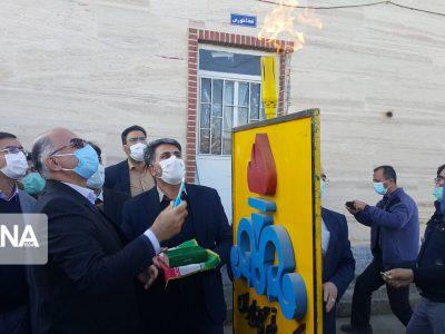 ۹ پروژه گازرسانی در شهرستان ملایر به بهرهبرداری رسید