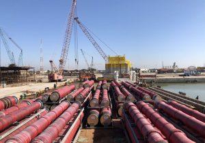 نخستین گوی شناور پایانه نفتی جاسک بارگیری شد