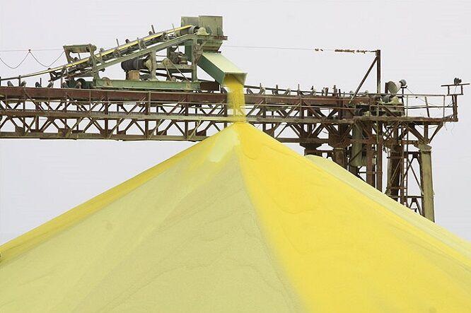 Image result for گوگرد  مجتمع گاز پارس جنوبی