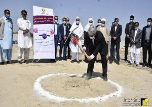 کلنگ زنی پست ۲۳۰ کیلوولت سردرگان سیستان و بلوچستان