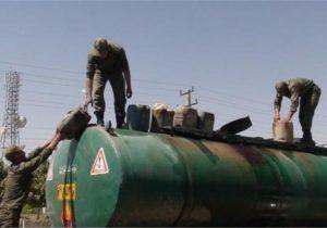 انهدام باند قاچاق تهیه و توزیع سوخت؛ کشف ۱۷۵ هزار لیتر فرآورده نفتی قاچاق