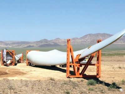 فاز نخست نیروگاه بادی دُرح ۴۵ درصد پیشرفت فیزیکی دارد