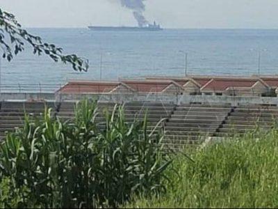تکذیب حمله نظامی به یک نفتکش در بندر بانیاس سوریه/ فوت یکیاز کارگران مجروح در انفجار نفتکش