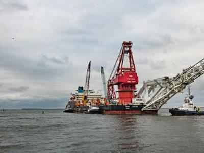 روسها بیاعتنا به تحریمهای آمریکا تکمیل خط لوله گاز اروپا را آغاز کردند