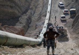 آغاز ارسال نفت خام از گوره به جاسک