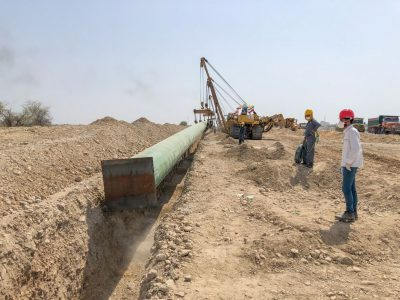 ارسال نفت خام از گوره به جاسک آغاز میشود
